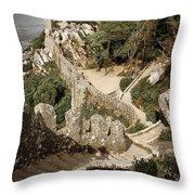 Mourish Castle Throw Pillow