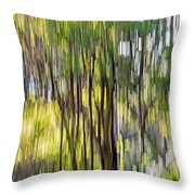 Mourn Not Winter's Passing Throw Pillow