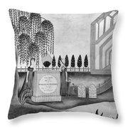 Mourning C1815 Throw Pillow