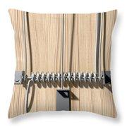 Mousetrap Plain Perspective Throw Pillow