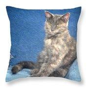 Mousie Throw Pillow