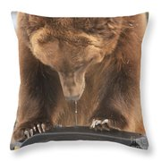 Mouthwatering Throw Pillow