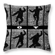 Move Throw Pillow