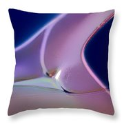 Movement Of Colors Throw Pillow
