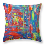 Movements Of Acrylic Throw Pillow