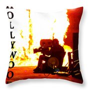 Movie Capital Poster Work 3 Throw Pillow