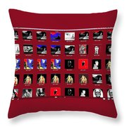 Movie Collage 2012 Throw Pillow