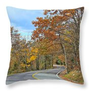 Movin On Down The Road Throw Pillow