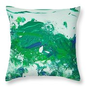 Moving Forward IIi Throw Pillow