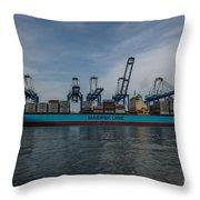 Moving Goods Throw Pillow