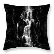 Moving In The Dark Throw Pillow