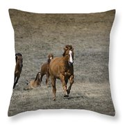Moving On Out Throw Pillow