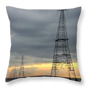 Moving Power Throw Pillow
