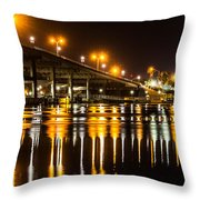 Moving Reflection Throw Pillow