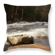 Moving Waters Throw Pillow
