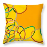 Moving West Throw Pillow