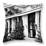 Mozart Cafe Throw Pillow