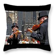 Mozart In Masquerade Throw Pillow