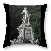 Mozart In Vienna Throw Pillow
