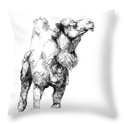 Mr Camel To You Throw Pillow
