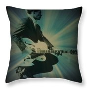 Mr. Chuck Berry Blueberry Hill Style Throw Pillow