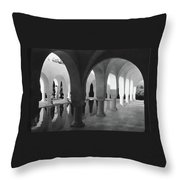 Mr George Sebastian And His Wife Next Throw Pillow