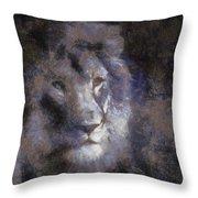 Mr Lion Photo Art 02 Throw Pillow