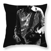 Mick In 1977 Throw Pillow