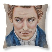 Mr. Nobley Throw Pillow