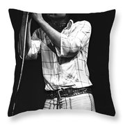 Bad Company Live In 1977 Throw Pillow