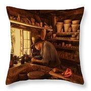 Mr. Potter Throw Pillow