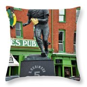 Mr. Robinson's Neighborhood Throw Pillow