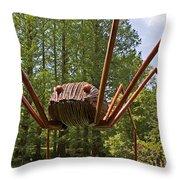 Mr. Spider Throw Pillow