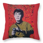 Mr Sulu Throw Pillow