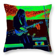 Mrdog # 71 In Cosmicolors Throw Pillow
