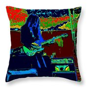 Mrdog # 71 Psychedelically Enhanced Throw Pillow