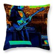 Mrdog #20 In Cosmicolors Throw Pillow