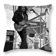 Mrdog #26 Enhanced Image Throw Pillow