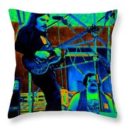 Mrdog #38 In Cosmicolors Throw Pillow