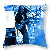 Mrdog #4 In Blue Throw Pillow