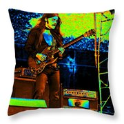 Mrdog #84 In Cosmicolors 2 Throw Pillow