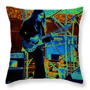Mrdog #85 In Cosmicolors Throw Pillow