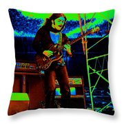 Mrdog #87 In Cosmicolors 1 Throw Pillow