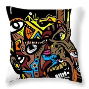 Mr.khem Throw Pillow