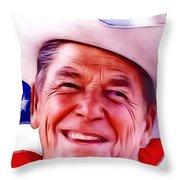 Mr.president 2 Throw Pillow
