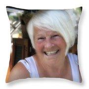 Mrs. Cabel Throw Pillow