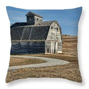 Mrs. Green's Barn Throw Pillow