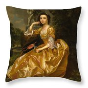 Mrs. Mary Chauncey Throw Pillow