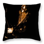 Mrush #12 In Amber Throw Pillow