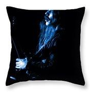 Mrush #12 In Blue Throw Pillow